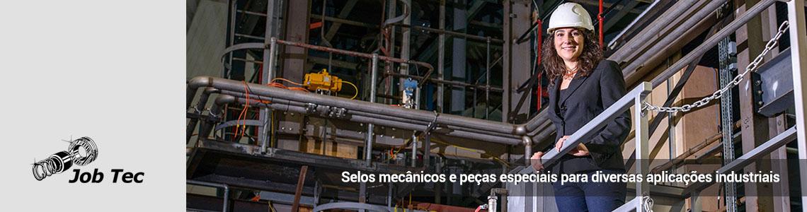 Selos mecânicos e peças especiais para diversas aplicações industriais
